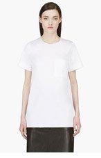 ROKSANDA ILINCIC White Silk Panel Blouse for women