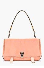PROENZA SCHOULER Rose Pink New Lamm Courier Bag for women