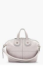 GIVENCHY Grey Goat Leather Nightingale Small Sugar Tote Bag for women