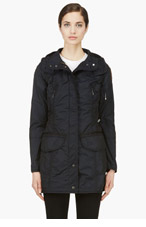 PARAJUMPERS Navy Mary Todd Windbreaker for women