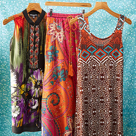 Exotic Inspirations: Women's Apparel
