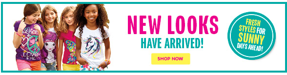 New Looks Have Arrived!