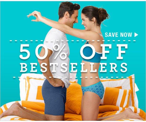 Shop 50% off Bestsellers