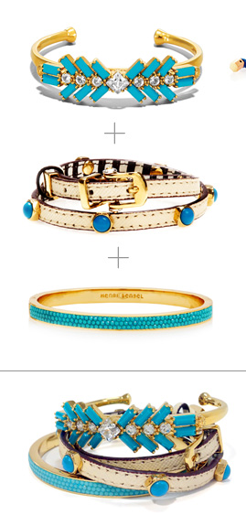Turquoise Stacked Wrist