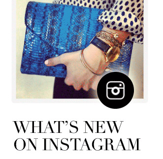 WHAT'S NEW ON INSTAGRAM