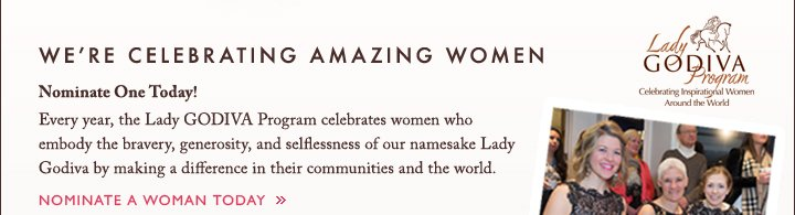 WE'RE CELEBRATING AMAZING WOMEN | NOMINATE A WOMAN TODAY