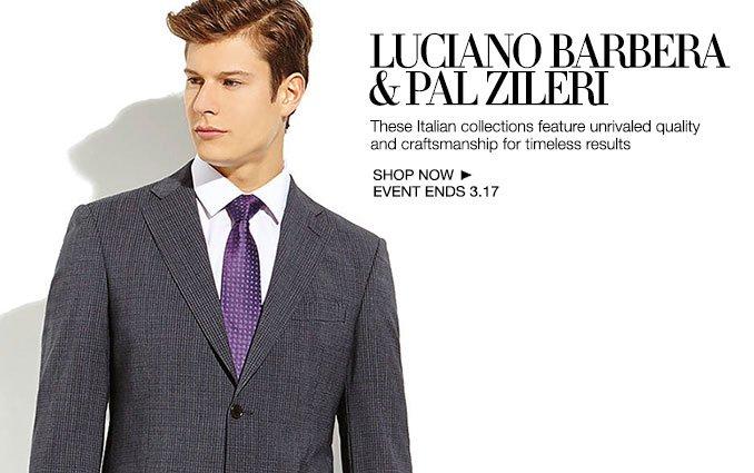 Shop Luciano Barbera & Pal Zileri - Men