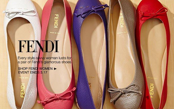Shop Fendi Shoes- Ladies