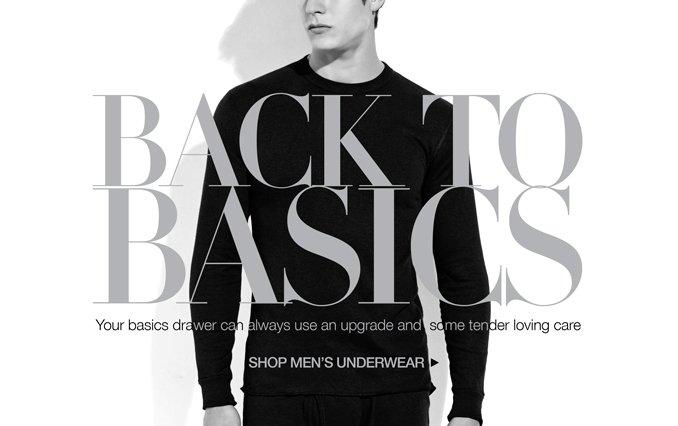 Shop Must-Have Basics - Men
