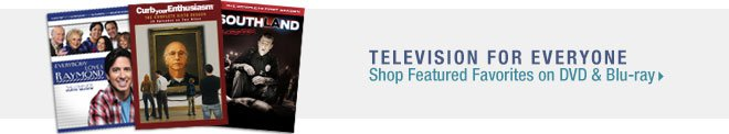 Television for Everyone - Shop Featured Favorites on DVD and Blu-ray
