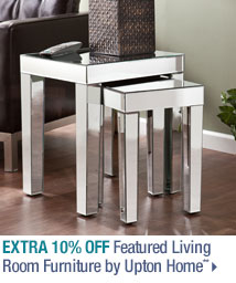 Extra 10% off Featured Living Room Furniture by Upton Home**