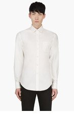 BAND OF OUTSIDERS White Oxford Shirt for men