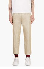 BAND OF OUTSIDERS Gold Lounge Pants for men