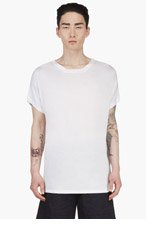 RAD BY RAD HOURANI White Jersey Unisex T-Shirt for men