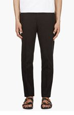 GIVENCHY Black Essential Trousers for men