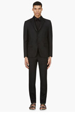 GIVENCHY Black Classic Tuxedo for men