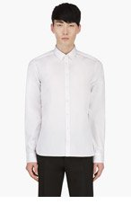 TIGER OF SWEDEN White Classic Shirt for men