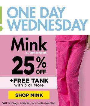 Mink by WonderWink 25% Off - Shop Mink