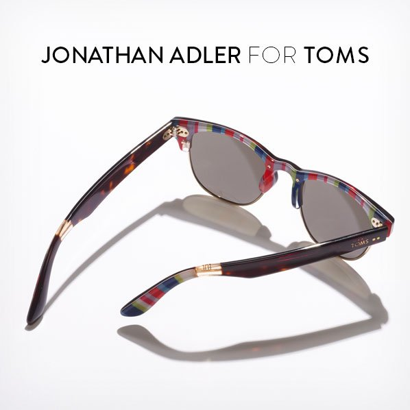 JONATHAN ADLER FOR TOMS