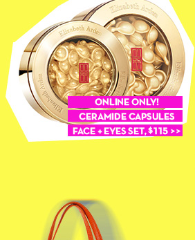 ONLINE ONLY! CERAMIDE CAPSULES FACE + EYES SET, $115.