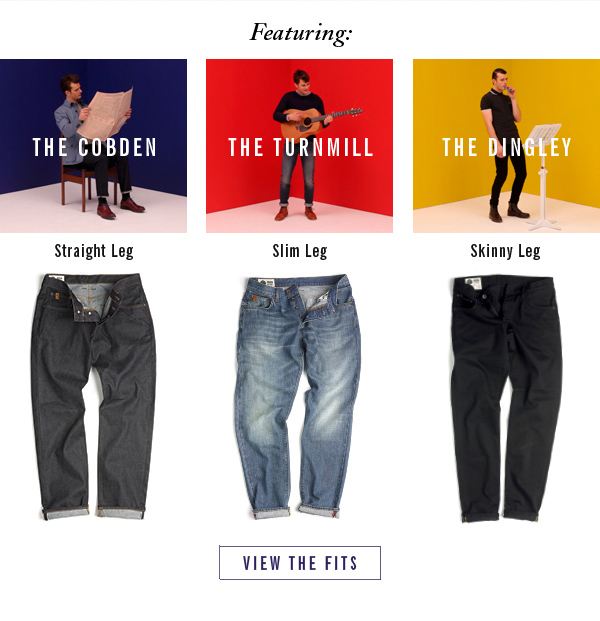 The Cobden | The Turnmill | The Dingley | View the Fits