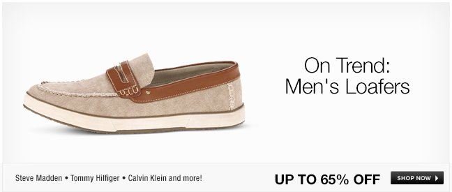 On Trend: Mens Loafers