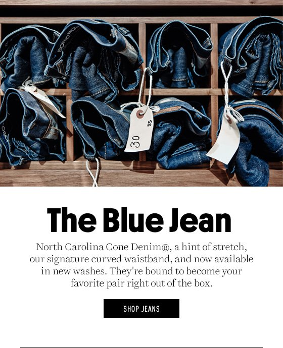 The Blue Jean is now available in new washes.