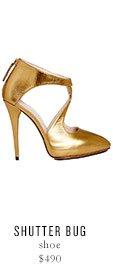 SHUTTER BUG shoe - $490