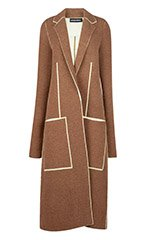 Double Face Yak Viscose Stretch Coat