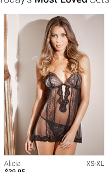 Alicia lingerie set
