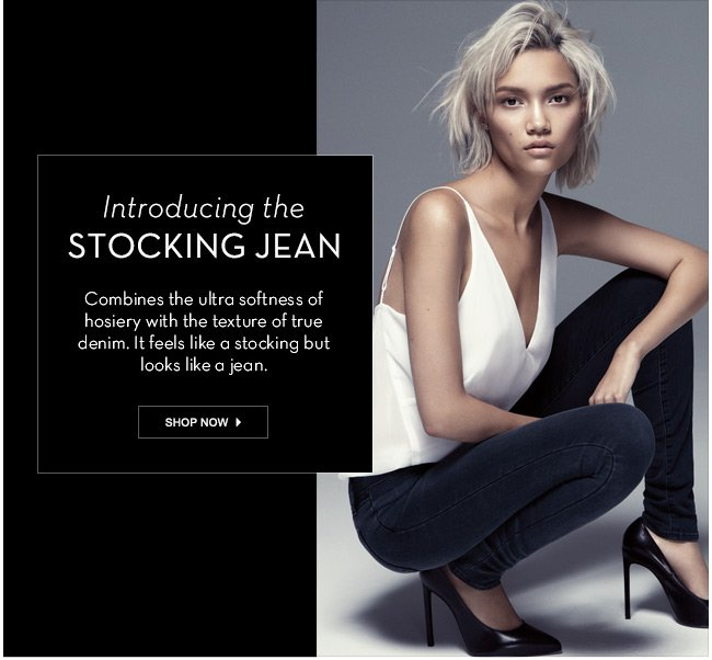 introducing the stocking jean