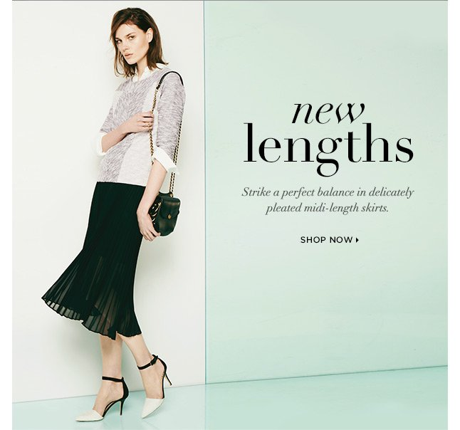 New Lengths To Love: Shop Springtime Skirts