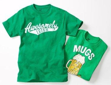 Luck of the Irish: Green Tees