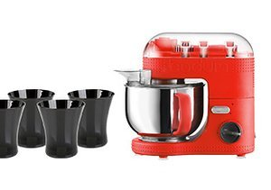 A Complete Kitchen: Mixers, Cups & More