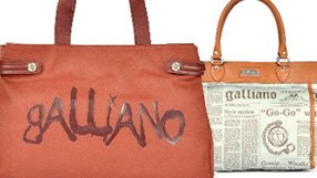 New to BTR: Galliano Handbags, and more