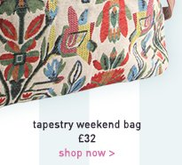 tapestry weekend bag