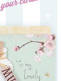 butterflies in jar mother's day card