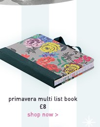 primavera multi list book