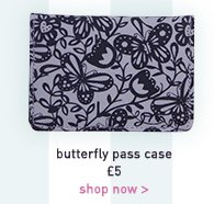 butterfly pass case
