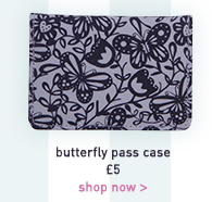 butterfly pass case