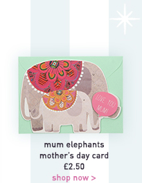 mum elephants mother's day card