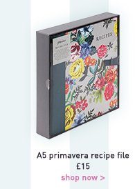 a5 primavera recipe file