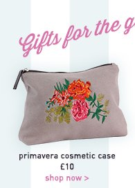 primavera cosmetic case