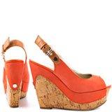 Dagmar - Orange Leather