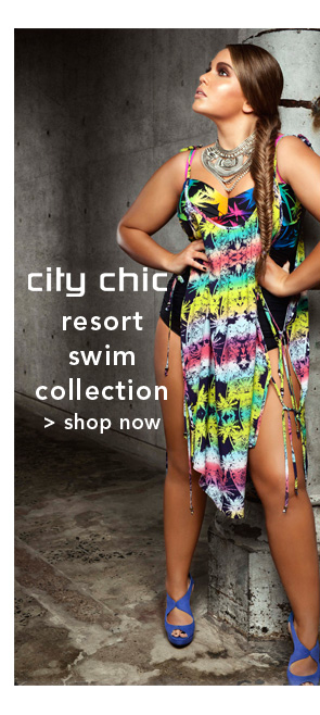 Shop City Chic Resort Swim Collection