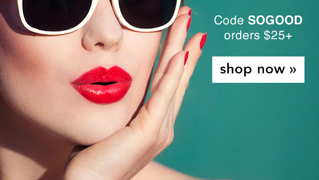 Use Code: SOGOOD Shop Now!