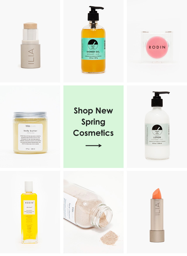 Shop New Spring Cosmetics
