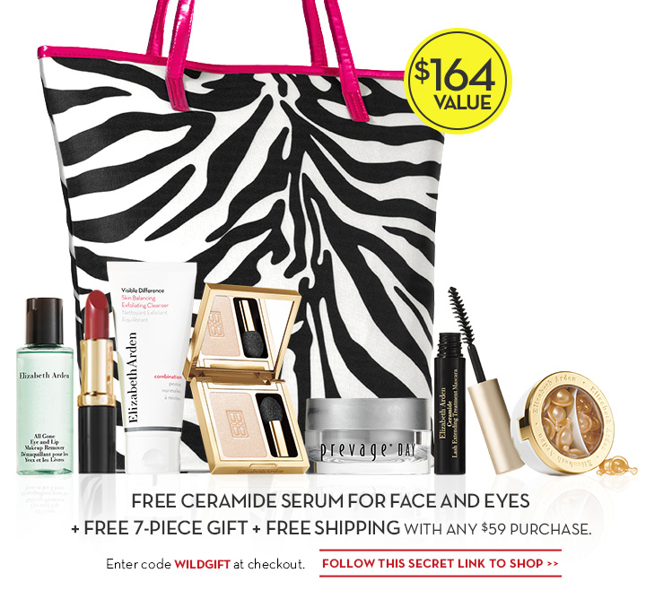 FREE CERAMIDE SERUM FOR FACE AND EYES + FREE 7-PIECE GIFT + FREE SHIPPING WITH ANY $59 PURCHASE. Enter code WILDGIFT at checkout. FOLLOW THIS SECRET LINK TO SHOP.