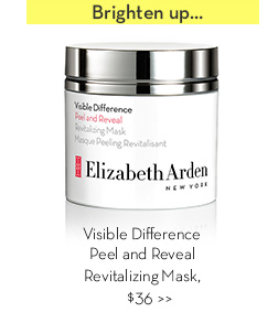 Brighten up... Visible Difference Peel and Reveal Revitalizing Mask, $36.