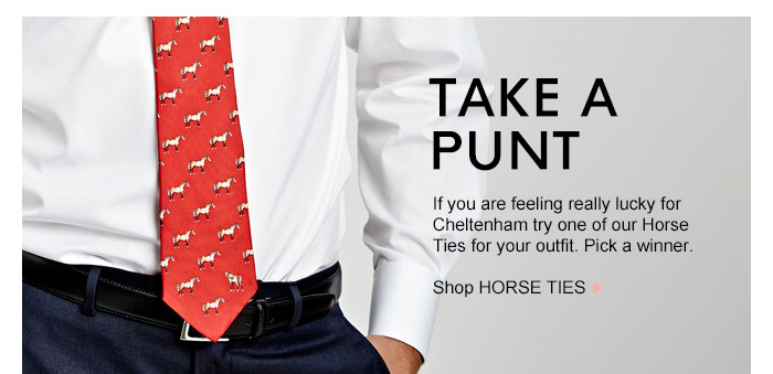 TAKE A PUNT - Shop HORSE TIES >